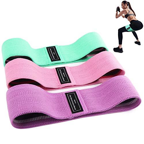 BEAU-PRO Elastici Fitness (3 Pezzi), Bande Elastiche di Resistenza Set di 3 Colorate Fasce Elastiche...