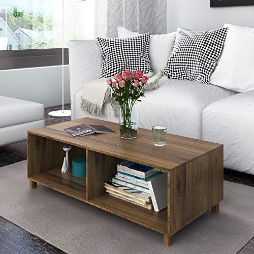@home by Nilkamal Astero Center Table, Walnut