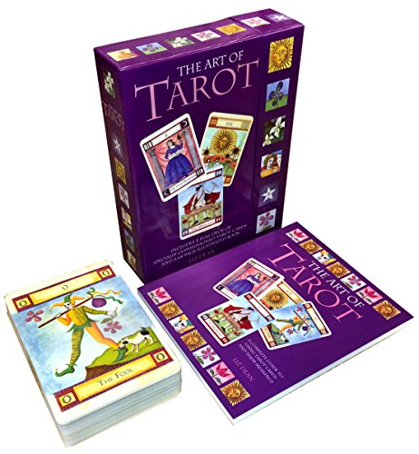 The Art Of Tarot Cards Collection Box Gift Set Includes 78...