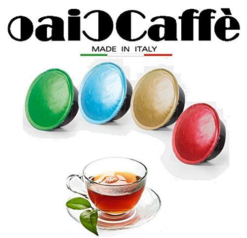 CiaoCaffè 50 Capsule di Tè Compatibili Lavazza A Modo Mio
