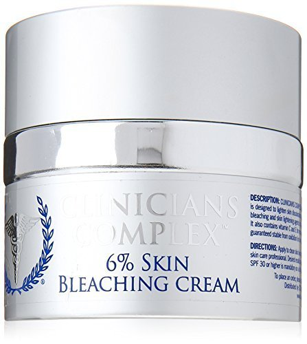 Clinicians Complex 6% Skin Bleaching Cream, 2.0 Ounce