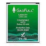 GadFull Batterie compatible avec Samsung Galaxy S3 mini | 2020 Date de...