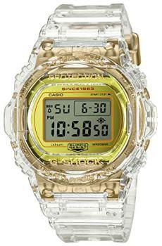 Casio G-Shock DW-5735E-7JR Glacier Gold 35 Aniversario Reloj esqueleto transparente resistente a los golpes (productos originales japoneses)