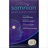 Somnion Deep Sleep Patch, Increase Deep and REM Sleep, Patented Biofield Photon Technology, No Drugs or Chemicals, 31 Day Supply