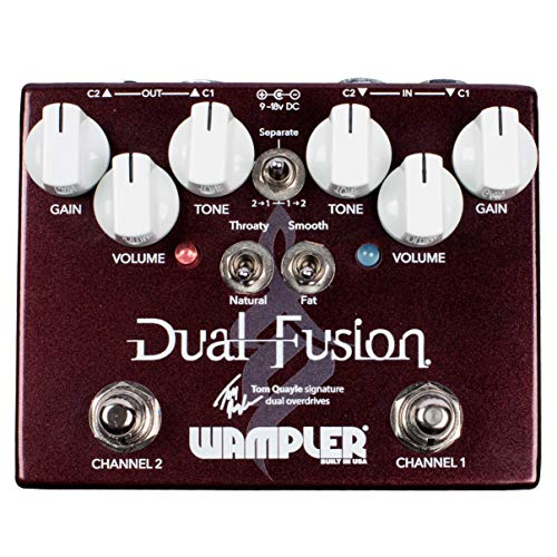 Wampler Dual Fusion Tom Quayle Electric Guitar Effects Pedal