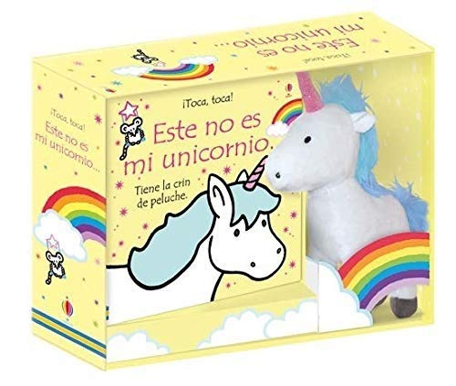 Este no es mi unicornio. Libro y unicornio de peluche