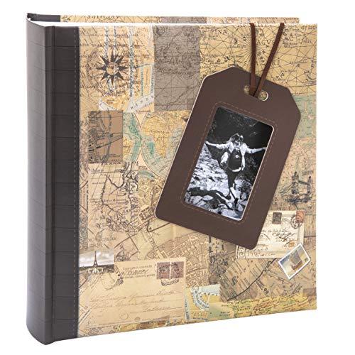 Album photo Kusso Série voyage avec fenêtre 10 x 15 cm