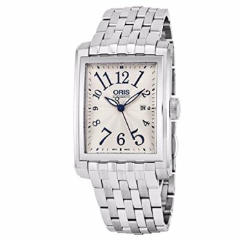 Oris Rectangular Date Automatic Unisex Watch 01 583 7657 4061-07 8 21 82
