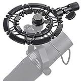 Shure SM7B Mikrofonspinne, Shock Mount Reduziert Vibration und Verbessert die Aufnahme Qualität von YOUSHARES