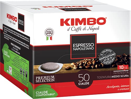 Kimbo Caffe' (500) CIALDE CAFFE MISCELA ESPRESSO NAPOLETANO ESE 44MM