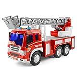GizmoVine Jouet Camion Pompier à Incendie pour Enfants 3 Ans...