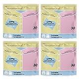Détergent de blanchisserie de voyage, Lessive de voyage, de lessive dans une feuille (4 pack=120...