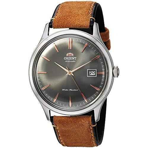 Orient Herren Analog Automatik Uhr mit Leder Armband FAC08003A0
