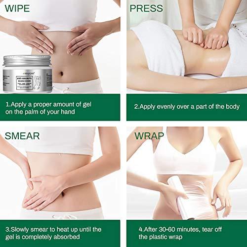Anti Cellulite Cream, Cellulite Remover, Hot Cream, Anti Cellulite Treatment, Body Firming and Tightening Cream, Belly Fat Burner for Women and Men 8