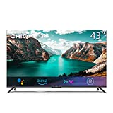 CHiQ U43G7PF Televisor Smart TV Android 43', 4K UHD, HDR10, Dolby Vision, Dolby Audio, 3 HDMI, 2 USB