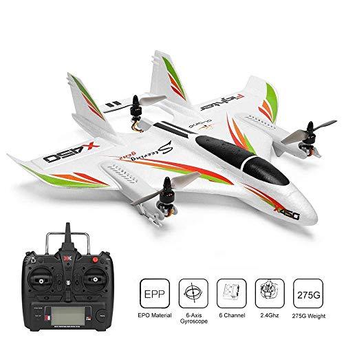 Mini Drone Telecomandato Quadricottero Professionale 2.4G 6CH 3D/6G RC Drone Quadcopter Motore Brushless Elicotteri Decollo Verticale RC Aliante Ala Fissa Aereo Regalo per Bambini e Principianti
