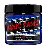 Manic Panic - Rockabilly Blue Classic Creme Vegan Cruelty Free Blue Semi Permanent Hair Dye 118ml