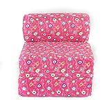 American Furniture Alliance Twin Child Sofa Sleeper, Jr, Pink Flower