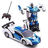 Highttoy Télécommandée Transformers Voiture pour Enfants de 4 à 14 Ans,...