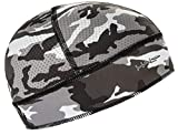 Halo Headband Skull Cap - The Ultimate High Performance Skull Cap, Camo Grey