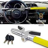 Warrior WA839Y Barre antivol Voiture Volant Haute sécurité, Universelle...