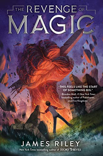 The Revenge of Magic by [James Riley]