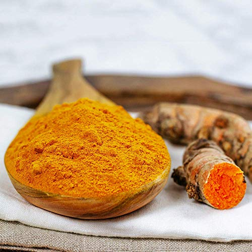 HQOExpress   Organic Turmeric Powder w/natural Curcumin   USDA Certified & Lab Tested   21 oz. Chef Jar