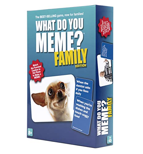 What Do You Meme? Family Edition - The Hilarious Family Game...