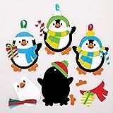 Baker Ross Kits de décorations Pingouins à Assortir (Paquet de 6) -...