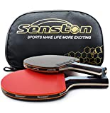 Raquettes de Tennis de Table Ping-Pong, Professionnel Table Tennis Racquet...