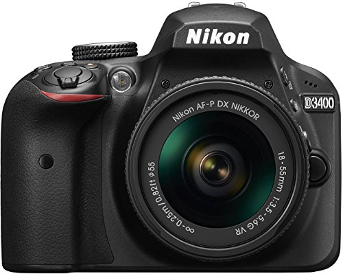 Nikon D3400 w/ AF-P DX NIKKOR 18-55mm f/3.5-5.6G...