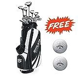 Bundle:Callaway Men's Strata Ultimate Complete Golf Set,...