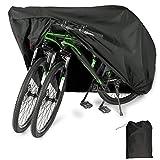 YZCX Housse de Vélo, Housse de Bicyclette Imperméable Polyester Oxford Haute Qualité Convient Aux Vélos et...