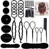 Accessoires de Coiffure, Lictin Set d'Outils de Coiffure Cheveux Coiffure Stylisée Accessoire...