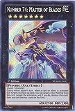 Yu-Gi-Oh! - Number 74: Master of Blades (NUMH-EN032) - Number Hunters - Unlimited Edition - Secret...
