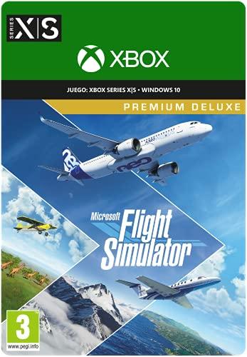 Microsoft Flight Simulator Premium Deluxe   Código digital para PC y desde el 27/07/2021 también para Xbox Series X   S