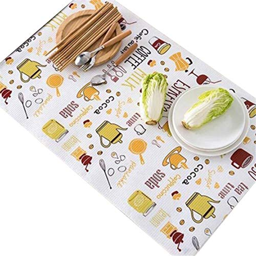 SYGA Anti-dust Kitchen Accessory Kitchen Table Shelf Wardrobe Pad Cabinet Drawer Tableware Mat