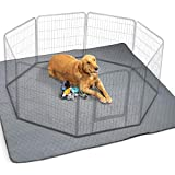 Waterproof XXL Puppy Whelping Pad 72'x72' - Our Washable Super Absorption Pee Pad is Perfect for...