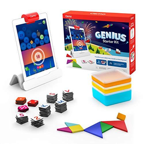 Osmo - Genius Starter Kit for iPad (NEW VERSION) - 年齢 6-10 - (Osmo Base 含まれています) 並行輸入品