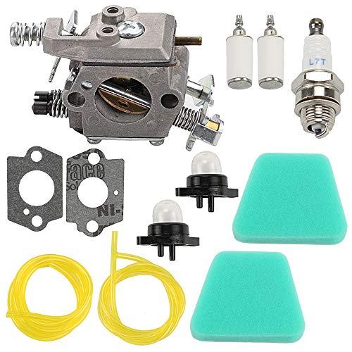 Yermax WT-324 WT-891 Carburetor + Air Filter Kit for POULAN Craftsman Chainsaw PP210 2075C 2050WT 1950LE 1975LE 2055LE 2375LE 2150LE PPB1838LE