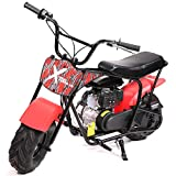 XtremepowerUS Pro 80CC 4-Stroke Kids Dirt Off Road Mini Dirt Bike, Kid Gas Powered Dirt Bike Off Road Dirt Bikes Gas Powered Trail Mini Bike