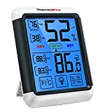ThermoPro TP55 Digital Hygrometer Indoor Thermometer Humidity Gauge...
