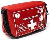 Selldorado Kit de premiers secours Traveller - 32 pièces - Trousse d'urgence idéale pour...