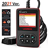 LAUNCH OBD2 Scanner Creader V+ Check Engine Light Car Code Reader Code Scanner Car Diagnostic Tool OBDII Leak Detection Tool