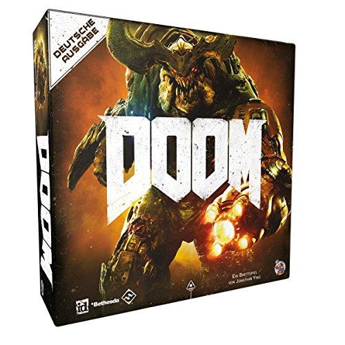 Fantasy Flight Games FFGD0107 Asmodee Doom Neuauflage, Kennerspiel, Dungeon Crawler, Deutsch