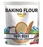 Happy Andes All-Natural Baking Flour 4 lbs - Quinoa-Based Ingredients for Baked Bread - Healthy Alternative to Brownie and Cake Recipes - No Rice, No Xanthan Gum, Non-GMO