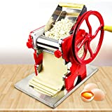 HYYKJ Commercial Electric Automatic Pasta Maker Machine Automatic Dumpling Skin Pressing Dough Mixer Multi-function Noodle Pasta Roller Making Machine for Commercial Home Use