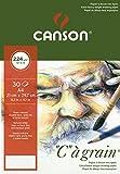Canson C à grain 400060600 Papier à dessin Blanc Naturel