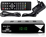 Strom 504 Décodeur TNT Full HD DVB-T2 - Compatible HEVC264 - (HDMI,Péritel,...