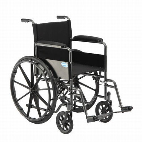 Invacare TREX26RP LightWeight Tracer EX2 Wheelchair, 18' with Elevating Largest- (Folding, Assembled)